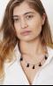 Rega Necklace Silver/Navy